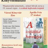 Könyvbemutató - A szülőföld harangjai