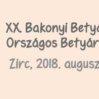 20. Bakonyi Betyárnapok - 2018. augusztus 3-4., péntek-szombat