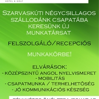 Munkalehetőség - Zirc- Szarvaskút