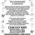 Cirkusz Zircen - 2018. október 17., szerda ,18 óra