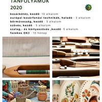 Tavaszi kézműves tanfolyamok a Reguly múzeumban - 2020.