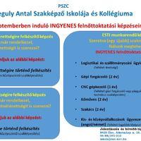 Ingyenes képzések a Regulyban - 2019. szeptembertől