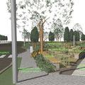 Változik a Rákóczi tér apátság előtti része, épül a piac - megkezdődött a Zöld Város Projekt