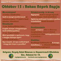 Rokon Népek Napja - finnugor témájú programok a Reguly Antal Múzeum és Népművészeti Alkotóházba