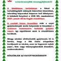 Fenyőfa (karácsonyfa)  összegyűjtése 2021.jan.20.