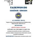 TAEKWON-DO edzések Zircen - 2019. szeptember 16-tól