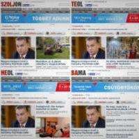 Megállíthatatlanul zuhan a megyei napilapok példányszáma