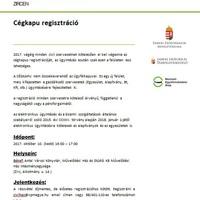 Cégkapu regisztráció