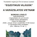 """""""Egzotikus világok"""" - Vietnam, Fotókiállítás megnyitó"""
