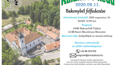 Kalandos Kedd - Bakonybél felfedezése - 2020. augusztus 11.