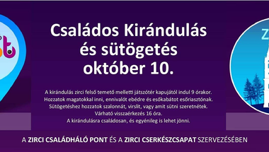 Családos kirándulás és sütögetés - 2020. október 10., szombat