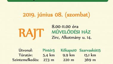 Zirc30 Nyárköszöntő túra - június 8., szombat