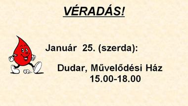 Véradás Dudaron