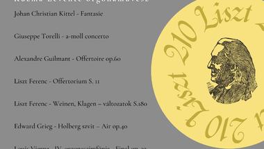 Orgonahangverseny az apátságban - 2021. augusztus 29., vasárnap