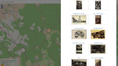 Közel 300 zirci képeslap a Képeslap térképen