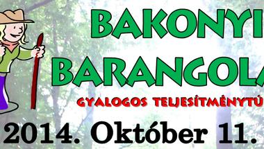 Bakonyi Barangolás - gyalogos teljesítménytúra