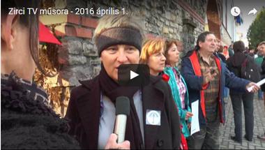 Zirci Tv műsora 2016. április 1.