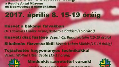 Húsvéti készülődés: családi nap a Reguly Antal Múzeum és Népművészeti Alkotóházban