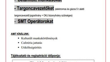 Trenkwalder-Csoportos tájékoztató álláslehetőségről