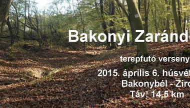 I. Bakonyi Zarándok futás - 2015. április 6.
