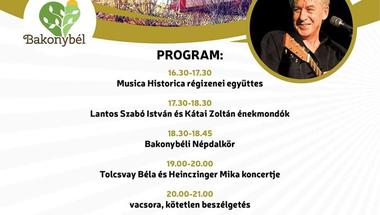 Énekmondók emlékezete - Bakonybél, 2019. augusztus 10.