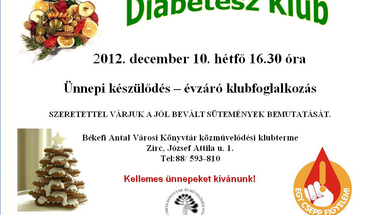 Decemberi Diabétesz Klub