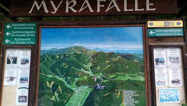Magashegységi élmények - a Myrafälle és a Steinwandklamm Alsó-Ausztriában
