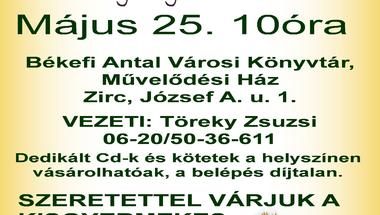Bugócsiga muzsika!  Kerekítő ölbeli játékok és mondókák kicsiknek  2012. május 25. péntek 10 óra