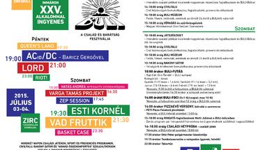 XXV. Zirci Buli - 2015. július 3-4.
