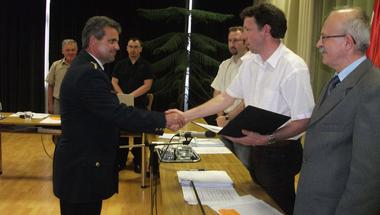 Papp Gyula az év rendőre Zircen