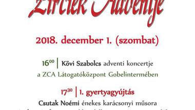 Zirciek Adventje - 2018. december 1., szombat