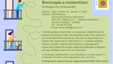 Borzongás a múzeumban - 2020. október 30., péntek