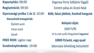 OFF-ROAD találkozó - Borzavár, 2021. aug. 7.