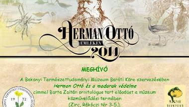 Herman Ottó és a madarak védelme