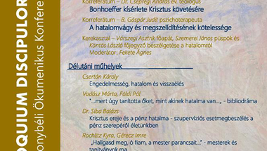 VI. Bakonybéli Ökumenikus Konferencia
