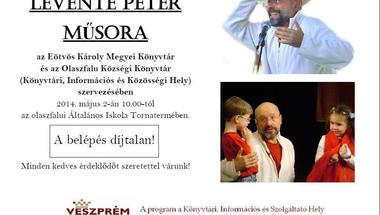 Levente Péter műsora - Olaszfaluban