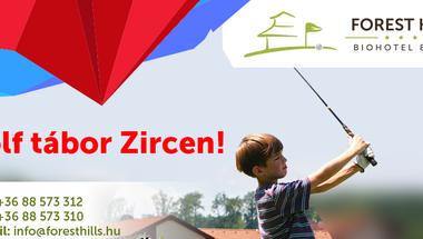 Golf tábor - Zircen