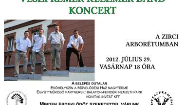 Veszprémer Klezmer  Band  koncert  2012. július 29. vasárnap 18 óra