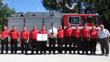 Pro Urbe Emlékérem kitüntetést kapott a Zirci Önkormányzati Tűzoltóság