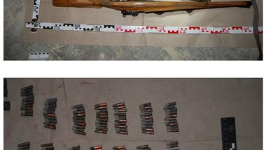 Puskákat és lőszereket találtak a kórház padlásán