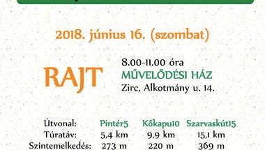 """ZIRC30 - """"Nyárköszöntő"""" túra"""