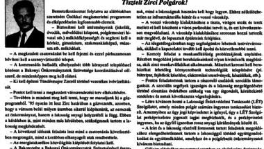 Hátraarc - az önkormányzati választások negyedszázada Zircen. 4. rész - 1994