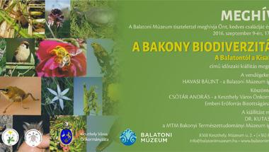 """""""A Bakony biodiverzitása - A Balatontól a Kisalföldig"""" - Keszthelyen"""