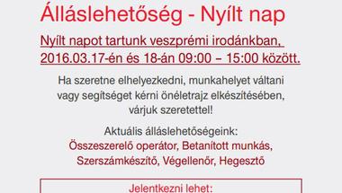 Trenkwalder-Veszprémi nyílt nap