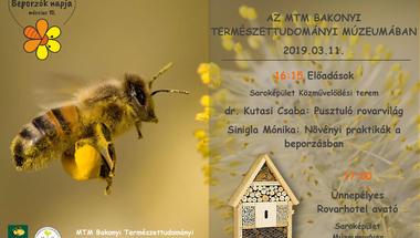 Beporzók napja alkalmából - előadások a természettudományi múzeumban - 2019. március 11.