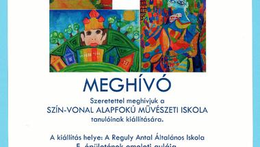 SZÍN-VONAL Alapfokú Művészeti Iskola kiállítása