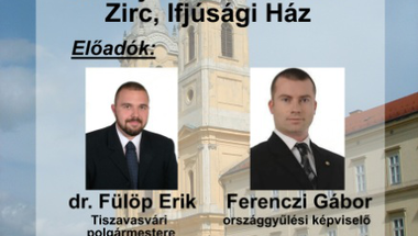 Ferenczi Gábor és dr. Fülöp Erik lakossági fóruma