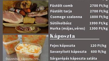 Olaszfalui házias ízek - rendelhető