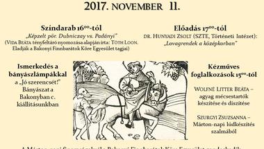 Márton-napi családi nap programja a Reguly Antal Múzeumban