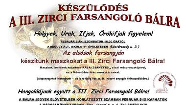 Készülődés a III. Zirci Farsangoló Bálra